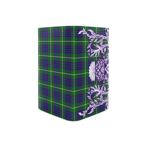 MacIntyre Hunting Modern Tartan Wallet Women's Leather Thistle A91