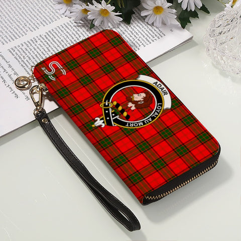Adair Crest Tartan Zipper Wallet™