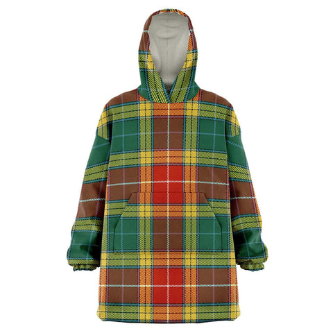 Image of Buchanan Old Sett Snug Hoodie - Unisex Tartan Plaid Front