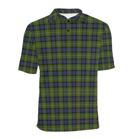 Image of Fergusson Modern Tartan Polo Shirt HJ4