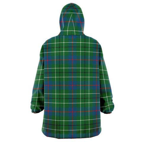 Duncan Ancient Snug Hoodie - Unisex Tartan Plaid Back