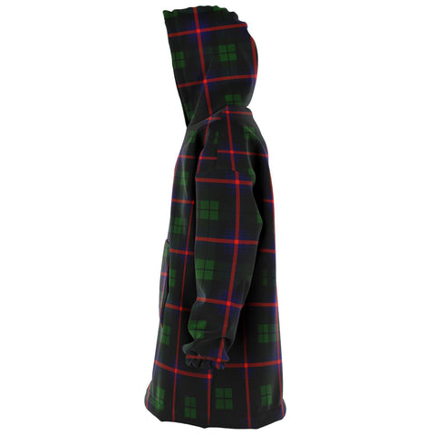 Image of Urquhart Modern Snug Hoodie - Unisex Tartan Plaid Left