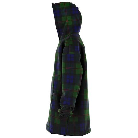 Image of Dundas Modern Snug Hoodie - Unisex Tartan Plaid Left