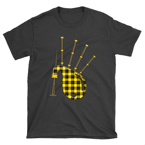 Barclay Dress Modern Tartan Bagpipes T-Shirt