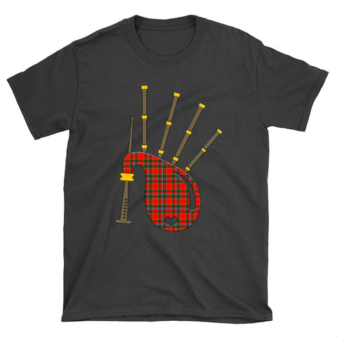Drummond of Perth Tartan Bagpipes T-Shirt
