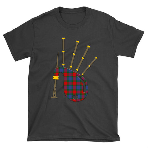 Image of Mar Tartan Bagpipes T-Shirt