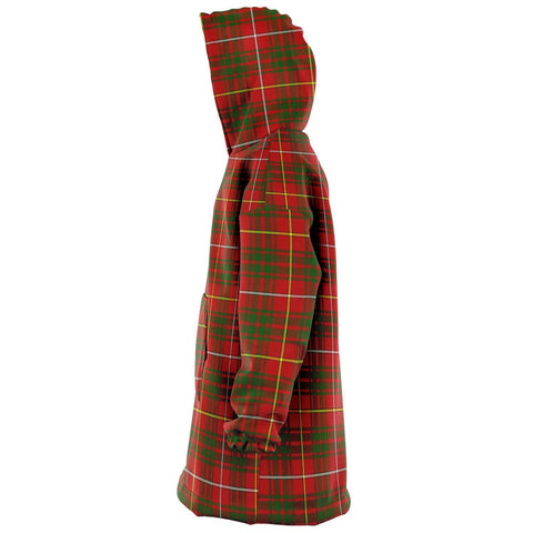 Image of Bruce Modern Snug Hoodie - Unisex Tartan Plaid Left
