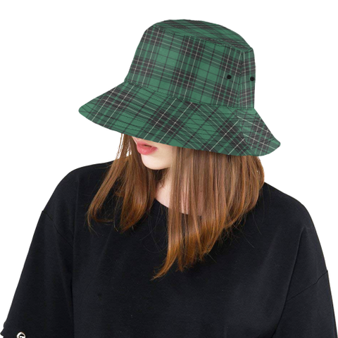 Maclean Hunting Ancient Tartan Bucket Hat for Women and Men