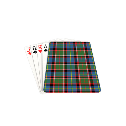 Image of Aikenhead Tartan Playing Cards TH8