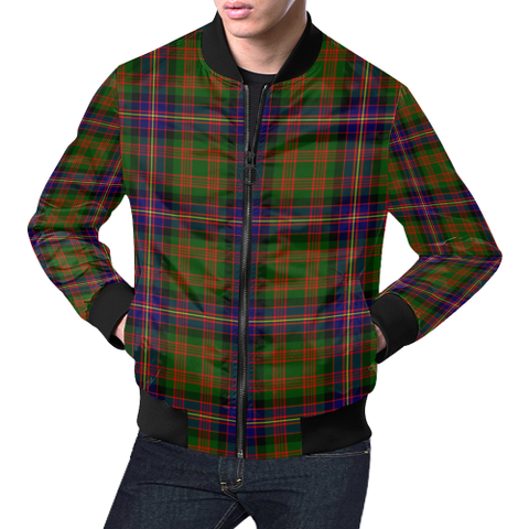 Cochrane Modern Tartan Bomber Jacket | Scottish Jacket | Scotland Clothing