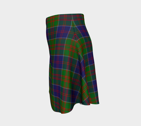 Tartan Flared Skirt - Stewart of Appin Hunting Modern |Over 500 Tartans | Special Custom Design | Love Scotland