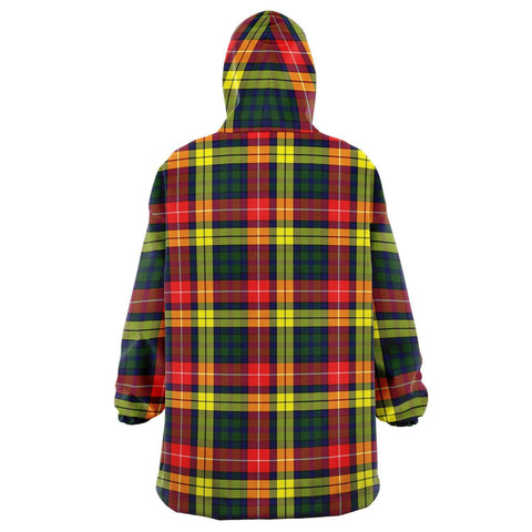 Image of Buchanan Modern Snug Hoodie - Unisex Tartan Plaid Back
