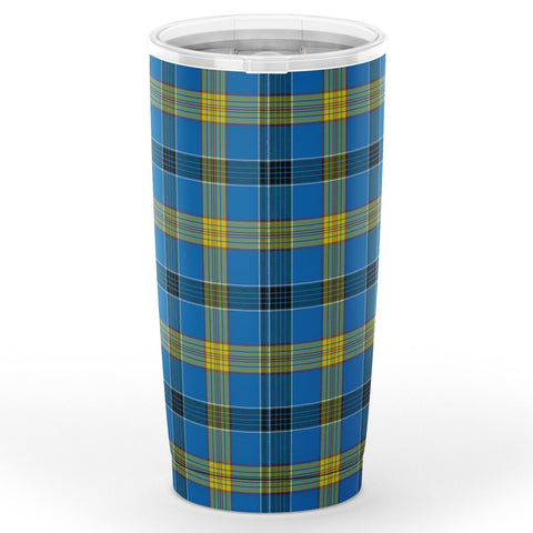 Laing Tartan Tumbler, Scottish Laing Plaid Insulated Tumbler - BN