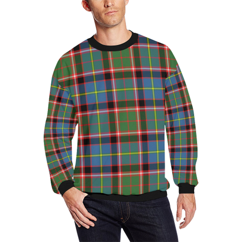 Image of Aikenhead Tartan Crewneck Sweatshirt TH8