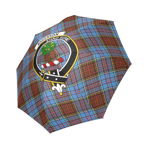 Anderson Modern Crest Tartan Umbrella TH8