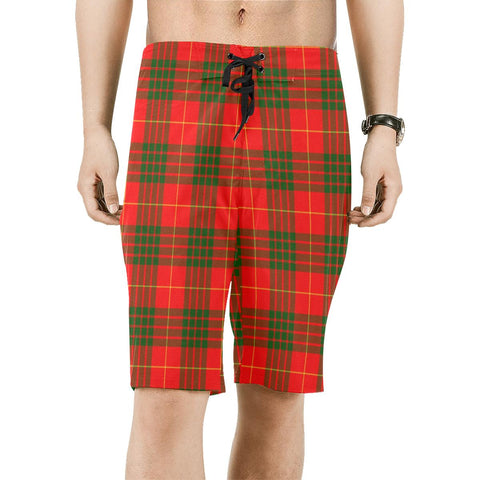 Cameron Modern Tartan Board Shorts | scottishclans.co