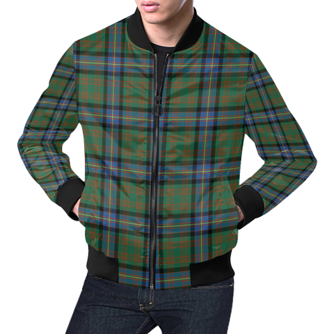 Cochrane Ancient Tartan Bomber Jacket | Scottish Jacket | Scotland Clothing