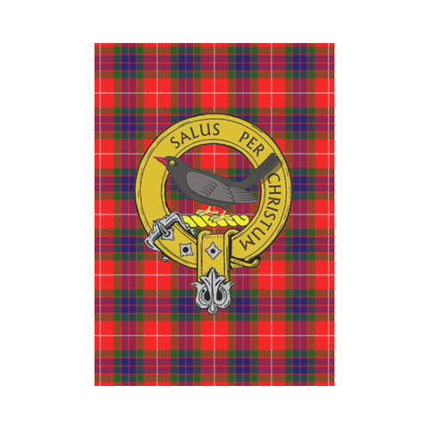 Abernethy Tartan Flag Clan Badge | Scottishclans.co