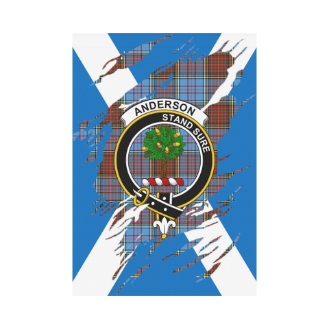 Anderson Lives In Me Tartan Flag K7