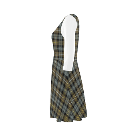 Campbell Argyll Weathered Tartan 3/4 Sleeve Sundress | Exclusive Over 500 Clans
