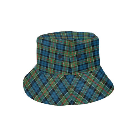 Colquhoun Ancient Tartan Bucket Hat for Women and Men K7