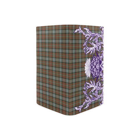Fergusson Weathered Tartan Wallet Women's Leather Thistle A91