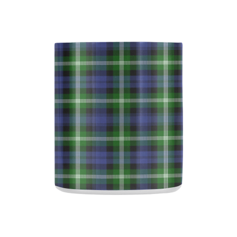 Baillie Modern  Tartan Mug Classic Insulated - Clan Badge K7