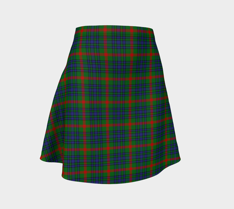 Tartan Flared Skirt - Aiton |Over 500 Tartans | Special Custom Design | Love Scotland
