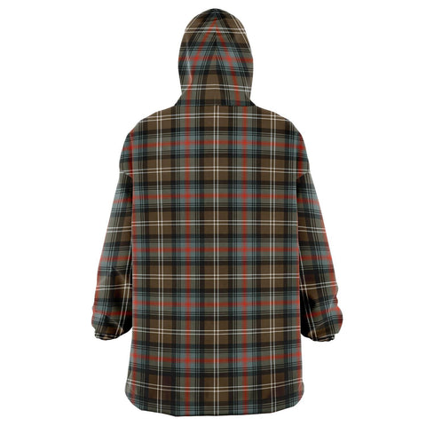 Sutherland Weathered Snug Hoodie - Unisex Tartan Plaid Back