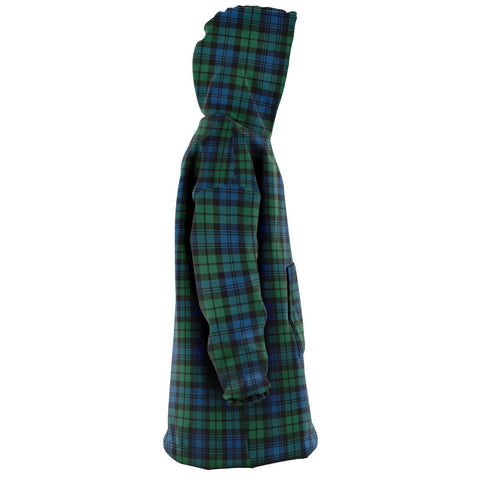 Image of Campbell Ancient 02 Snug Hoodie - Unisex Tartan Plaid Right