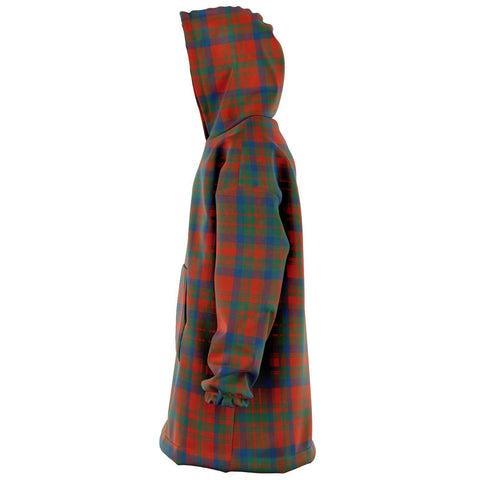 Matheson Ancient Snug Hoodie - Unisex Tartan Plaid Left