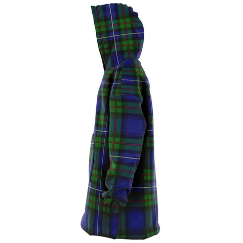 Image of Robertson Hunting Modern Snug Hoodie - Unisex Tartan Plaid Left