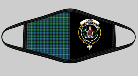 Lyon Clan Tartan Mouth Mask The Half Th88 GM