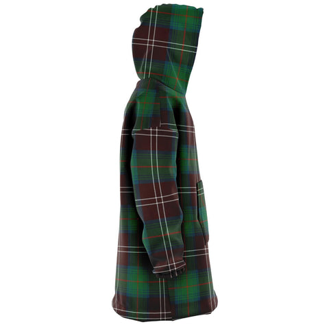 Chisholm Hunting Ancient Snug Hoodie - Unisex Tartan Plaid Right