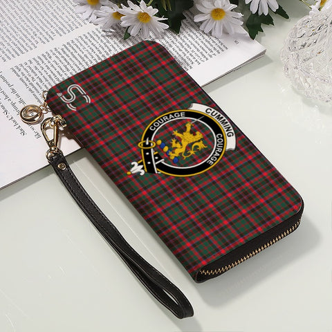 Cumming Hunting Modern Crest Tartan Zipper Wallet™