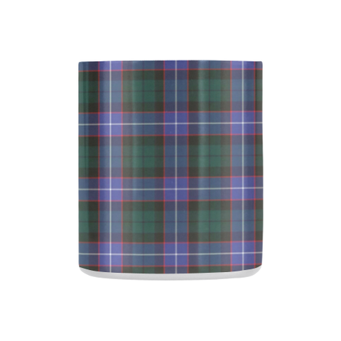 Image of Guthrie Modern Tartan Mug Classic Insulated - Clan Badge K7