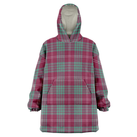 Crawford Ancient Snug Hoodie - Unisex Tartan Plaid Front