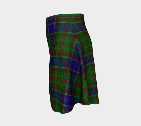 Tartan Flared Skirt - Adam |Over 500 Tartans | Special Custom Design | Love Scotland