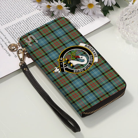Brisbane Crest Tartan Zipper Wallet™