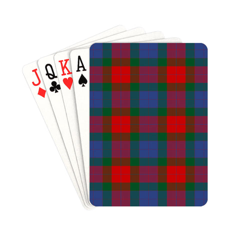 Mar Tartan Playing Cards | scottishclans.co