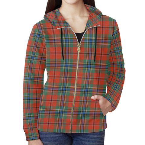 MacLean of Duart Ancient Tartan Zipped Hoodie | Special Custom Products
