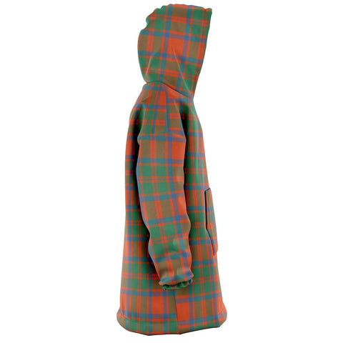 MacKintosh Ancient Snug Hoodie - Unisex Tartan Plaid Right