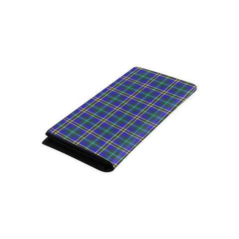 Weir Modern Tartan Wallet Women's Leather Thistle A91