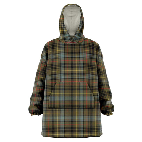 Stewart Hunting Weathered Snug Hoodie - Unisex Tartan Plaid Front