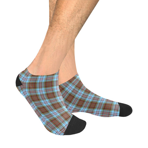 Anderson Ancient Tartan Ankle Socks | scottishclans.co