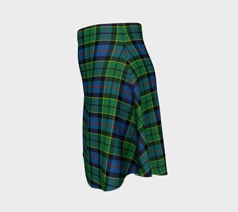 Tartan Flared Skirt - Forsyth Ancient |Over 500 Tartans | Special Custom Design | Love Scotland