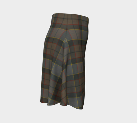 Tartan Flared Skirt - Outlander Fraser A9