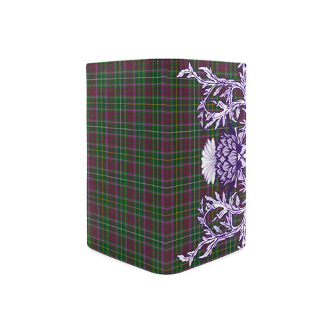 Crosbie Tartan Wallet Women's Leather Thistle A91