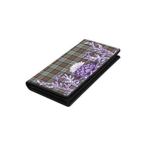 Image of MacLeod of Harris Weathered Tartan Wallet Women's Leather Wallet A91 | Over 500 Tartan