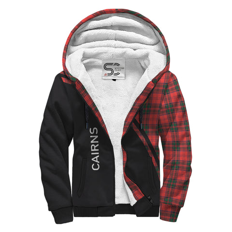 Image of Cairns Tartan Hoodie (Sherpa) - Curve Version